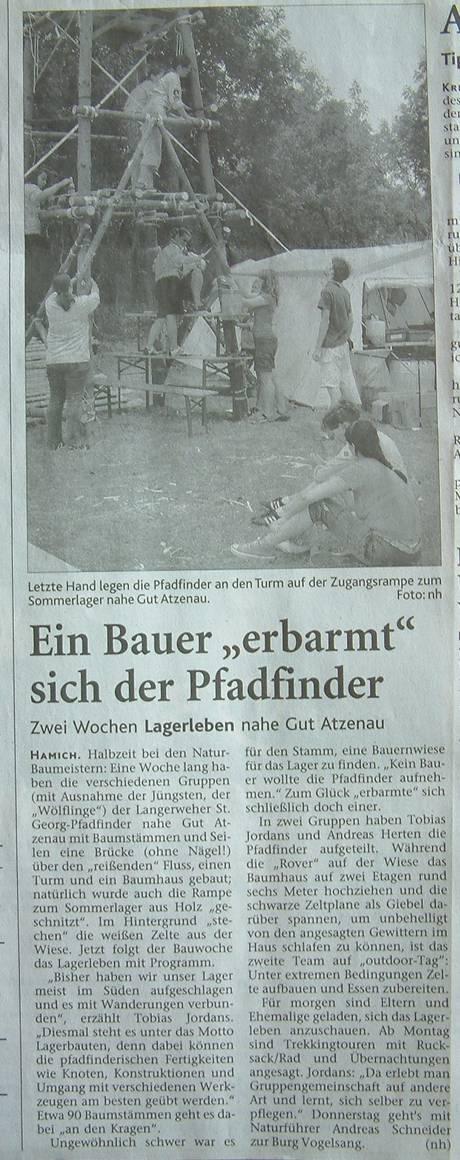 06-07-29 DZ Ein Bauer erbarmtm sich der Pfadfinder