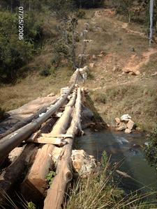 12 Provisorische Brücke
