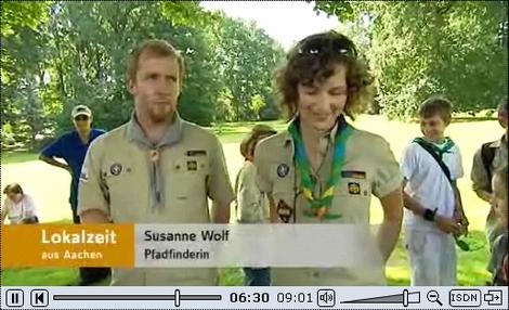WDR-Bericht mit Susanne