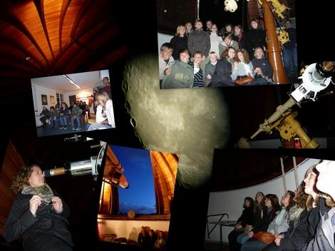 Collage Sternwarte 2008 Rover und Pfadis