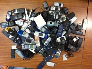 Alle gesammelten Handys